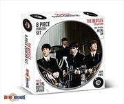 Beatles 8 Piece Coaster Set With Metal Tin | Merchandise
