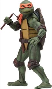 "Teenage Mutant Ninja Turtles (1990) - Michelangelo 7"" Action Figure | Merchandise"