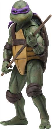"Teenage Mutant Ninja Turtles (1990) - Donatello 7"" Action Figure | Merchandise"