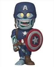 What If - Captain America Zombie Vinyl Soda | Pop Vinyl