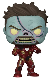 What If - Zombie Iron Man Pop! Vinyl | Pop Vinyl