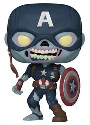 What If - Zombie Captain America Pop! Vinyl | Pop Vinyl