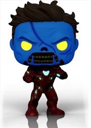 What If - Zombie Iron Man Glow US Exclusive Pop! Vinyl [RS] | Pop Vinyl