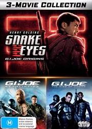 G.I.Joe / G.I.Joe - Retaliation / Snake Eyes - G.I.Joe Origins | 3 Movie Franchise Pack | DVD