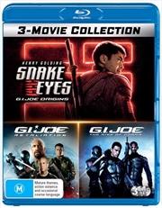 G.I.Joe / G.I.Joe - Retaliation / Snake Eyes - G.I.Joe Origins | 3 Movie Franchise Pack | Blu-ray