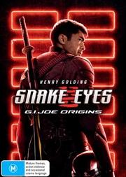 Snake Eyes - G.I. Joe Origins | DVD
