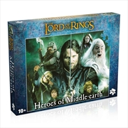 Heroes Of Middle Earth 1000 Piece Puzzle   Merchandise