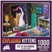 Cats In The Mirror 1000 Piece Puzzle | Merchandise