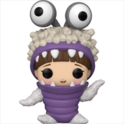 Monsters Inc - Boo with Hood Up 20th Anniversary Pop! Vinyl | Pop Vinyl