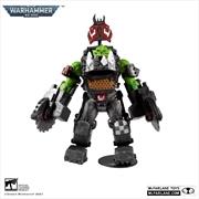 Warhammer 40K - Ork Meganob with Buzzsaw MegaFig Action Figure   Merchandise
