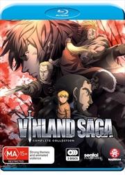 Vinland Saga - Eps 1-24   Complete Series   Blu-ray