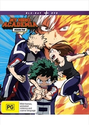 My Hero Academia - Season 2 | Blu-ray + DVD | Blu-ray/DVD