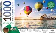Sydney Opera House Australia - 1000 Piece Puzzle  (Includes Roll-Up Mat) | Merchandise