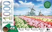 Dutch Windmills - 1000 Piece Puzzle  (Includes Roll-Up Mat) | Merchandise