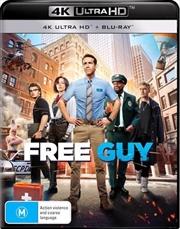 Free Guy | Blu-ray + UHD | UHD