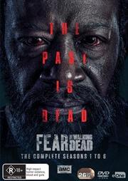 Fear The Walking Dead - Season 1-6   DVD