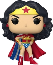 Wonder Woman - Classic with Cape 80th Anniversary Pop! Vinyl | Pop Vinyl