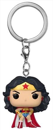 Wonder Woman - Classic Cape 80th Anniversary Pocket Pop! Keychain | Pop Vinyl