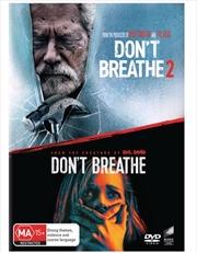 Don't Breathe / Don't Breathe 2   2 Movie Franchise Pack   DVD