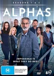Alphas - Season 1-2 | DVD