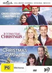 Hallmark Christmas - Cross Country Christmas / If I Only Had Christmas / Christmas In Montana - Coll | DVD
