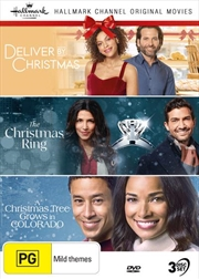 Hallmark Christmas - Deliver By Christmas / The Christmas Ring / A Christmas Tree Grows In Colorado | DVD
