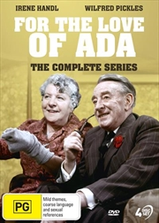 For The Love Of Ada | Complete Series | DVD