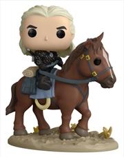 The Witcher (TV) - Geralt on Roach US Exclusive Pop! Ride [RS]   Pop Vinyl