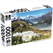 New Zealand Mt Cook Wildflower 1000 Piece Puzzle | Merchandise
