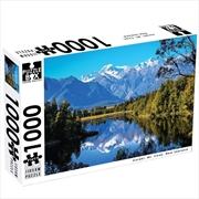 New Zealand Aoraki Mt Cook 1000 Piece Puzzle | Merchandise