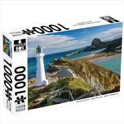 New Zealand Castle Point Lighthouse 1000 Piece Puzzle | Merchandise