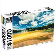 New Zealand  Waiotapu Rotorua 1000 Piece Puzzle | Merchandise