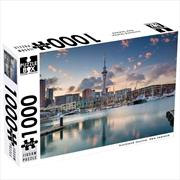 New Zealand Auckland Skyline 1000 Piece Puzzle | Merchandise