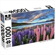 New Zealand Lake Tekapo 1000 Piece Puzzle | Merchandise