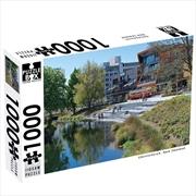 New Zealand Avon River Oxford Terrace 1000 Piece Puzzle | Merchandise