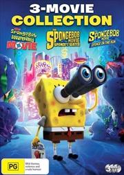Spongebob Squarepants - The Movie / The Spongebob Movie - Sponge Out Of Water / The Spongebob Movie   DVD
