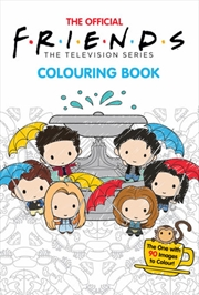 Friends Adult Colouring Book   Paperback Book