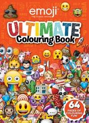 Emoji: Ultimate Colouring Book | Paperback Book