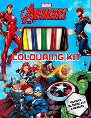 Avengers - Colouring Kit   Books