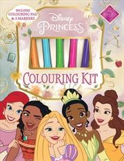Disney Princess Colouring Kit   Books