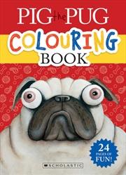 Pig The Pug Colouring Book | Books