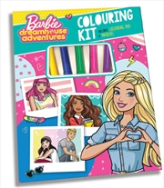 Barbie Dreamhouse Adventures Colouring Kit   Books