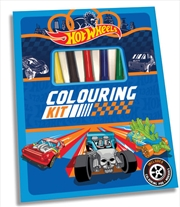 Hot Wheels - Colouring Kit   Books