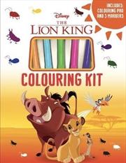 Lion King: Colouring Kit   Books