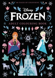 Frozen Adult Colouring Book | Paperback Book
