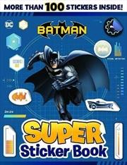 Batman: Super Sticker Book | Paperback Book