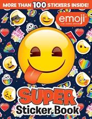 Emoji: Super Sticker Book | Paperback Book