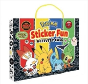 Pokemon: Sticker Fun Activity   Books