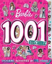 Barbie: 1001 Stickers | Paperback Book