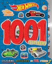 Hot Wheels: 1001 Stickers   Paperback Book